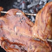 烧烤兔做法,烧烤兔菜谱
